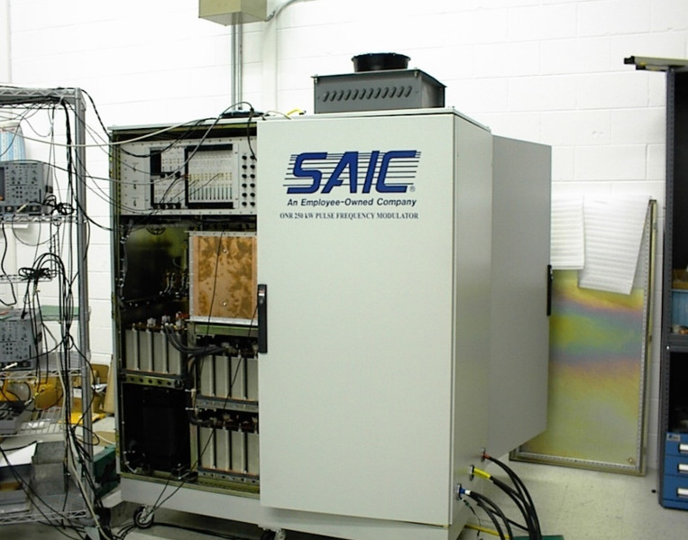 250kW evaluation PFM resonant Converter for US Navy's Office of Naval Research (SAIC PFM)