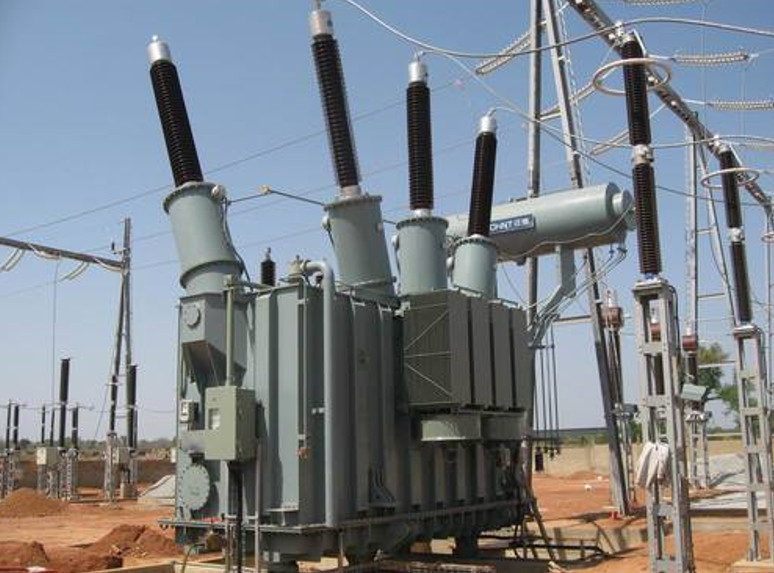 Typical MV/HV grid conventional transformer (IndiaMart)